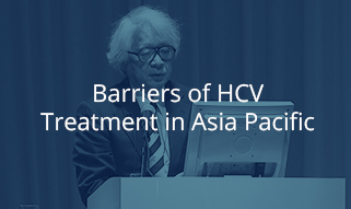 Barriers of HCV Treatment in Asia Pacific
